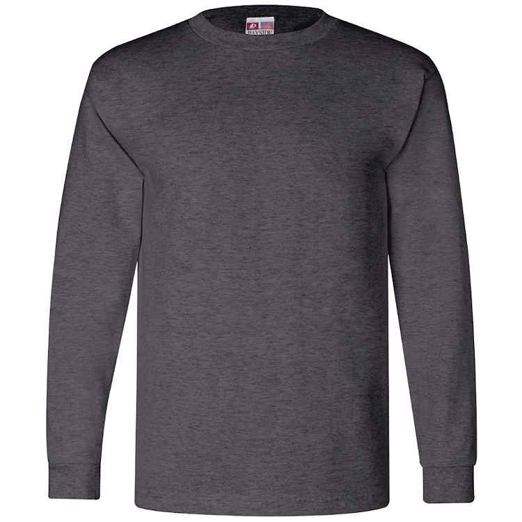 Bayside 6.1 oz. Long Sleeve T-Shirt