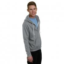 Bayside Unisex Full Zip Fashion Hoodie