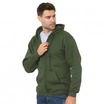 Bayside Full-Zip Hooded Sweatshirt