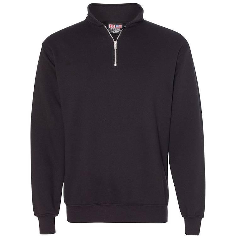 Bayside Quarter-Zip Pullover Sweatshirt