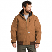 Carhartt Duck Active Jac-Quilt Flannel Lined