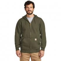 Carhartt Midweight Fleece Zip-Front Hooded Sweatshirt