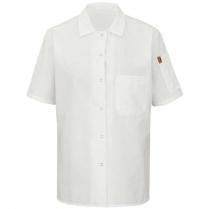 Chef Design Women's Short Sleeve Cook Shirt with Mimix™