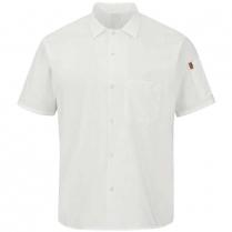 Chef Design Men's Short Sleeve Cook Shirt with Mimix™