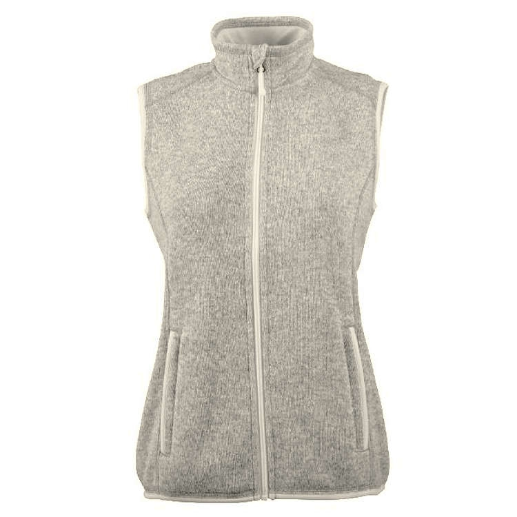 Charles River Women's Pacific Heath Fleece Vest