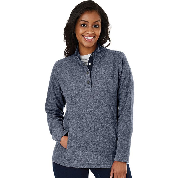 Charles River Women's Bayview Fleece Pullover