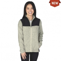 Charles River Women's Concord Heathered Fleece Jacket