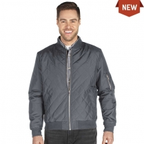 Charles River Men's Quilted Boston Flight Jacket