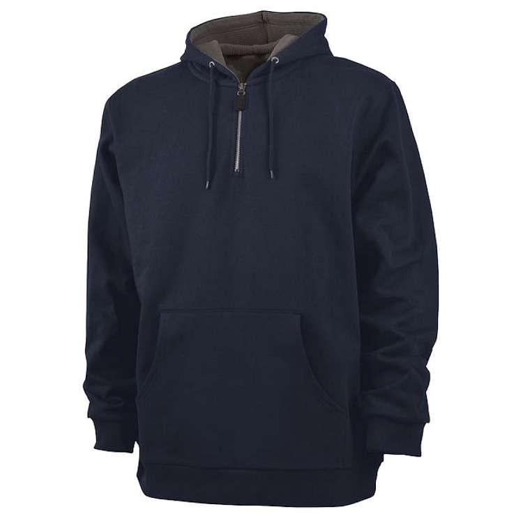 Charles River Tradesman Thermal Qtr Zip Sweatshirt