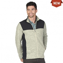 Charles River Men's Concord Heathered Fleece Jacket