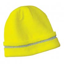 CornerStone® Enhanced Visibility Beanie with Reflective Stripe