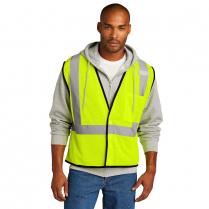 CornerStone® ANSI 107 Class 2 Economy Mesh One-Pocket Vest