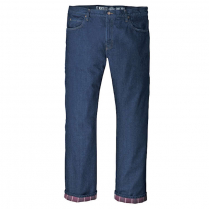 Dickies Relaxed Straight Fit Flannel-Lined Denim Jean