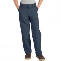 Dickies Boy's Classic Straight Fit Flexwaist Flat Front Pant-Husky