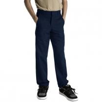 Dickies Boy's Classic Straight Fit Flexwaist Flat Front Pant
