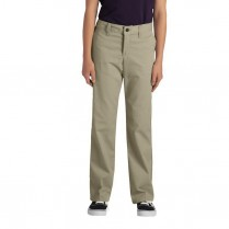 Dickies Girl's Classic Straight Fit Stretch Pant