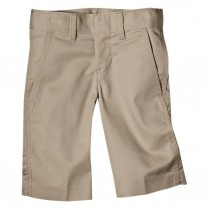 Dickies Boy's Classic Fit Flexwaist Flat Front Short