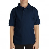 Dickies Boy's Short Sleeve Piqué Polo