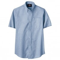 Dickies Boy's Short Sleeve Oxford Shirt