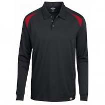Dickies Team Performance Long Sleeve Polo