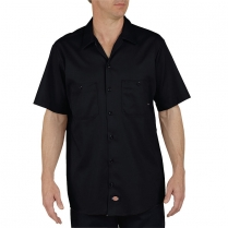 Dickies Short Sleeve Industrial Cotton Work Shirt