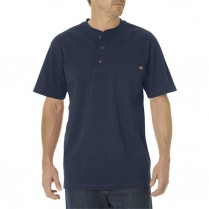 Dickies Heavyweight Short Sleeve Henley