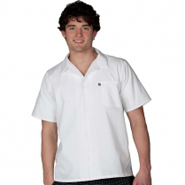 Edwards Button Front Short Sleeve Cook/Utility Shirt