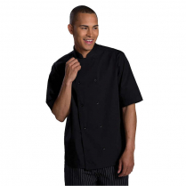 Edwards Short Sleeve Double Breasted Bistro Shirt