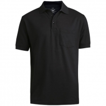 Edwards Unisex Soft Touch Blended Pique Polo with Pocket