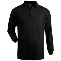 Edwards Unisex Soft Touch Long Sleeve Blended Pique Polo-No Pocket