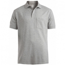 CLEARANCE Edwards Unisex Short Sleeve Soft Touch Cotton Pocket Pique Polo