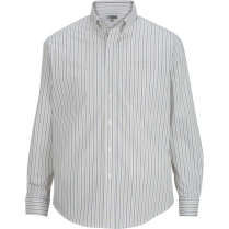 Edwards Men's Double Stripe Dress Poplin Shirt