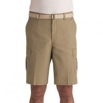Edwards Men's Blended Chino Flat Front Cargo Longer Short