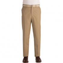 Edwards Men's Business Casual Blended Flat Front Pant