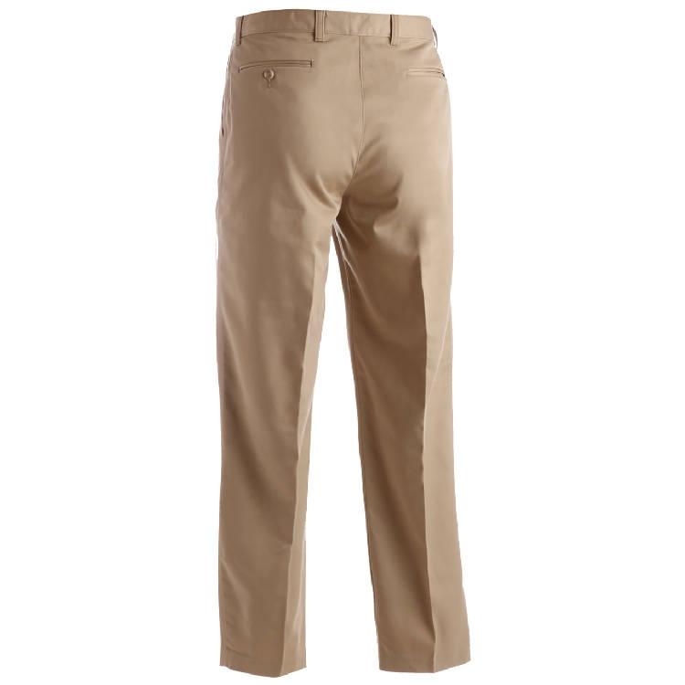 Edwards Men's Microfiber Flat Front Dress Pant