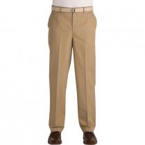 Edwards Men's Business Chino EZ Fit Flat Front Pant