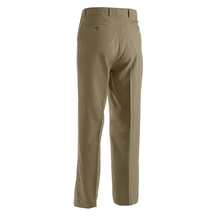 Edwards Men's Microfibre Flat Front Dress Pant with Repreve