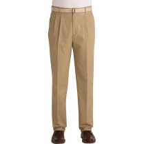 Edwards Men's Business Casual Blended Pleated Front Pant