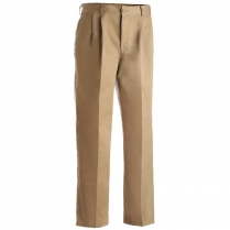 CLEARANCE Edwards Men's Blended Chino Pleated Front Utility Pant
