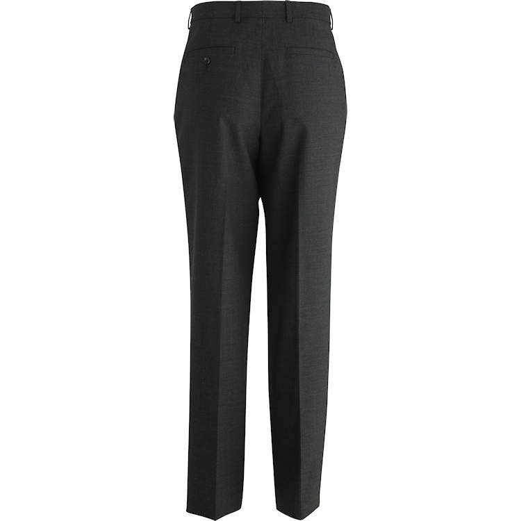 Edwards Men's Tailored Flat-Front Dress Pant
