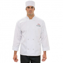 Edwards Casual Eight Button Chef Coat