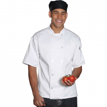 Edwards Classic Ten Button Short Sleeve Chef Coat