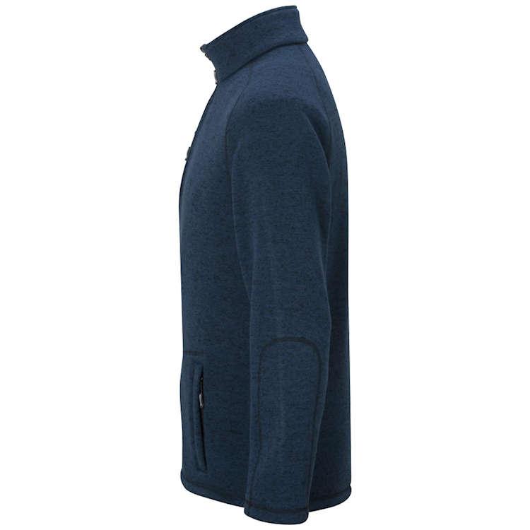 Edwards Men's Sweater Knit Fleece Jacket
