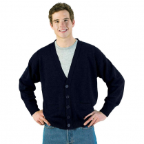 Edwards Tuff-Pil V-Neck Cardigan with Two Pockets