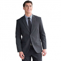 Edwards Men's Tailored Fit Suit Coat with Double Back Vent