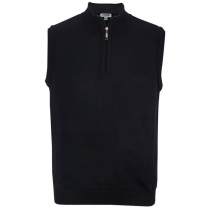 Edwards Quarter-Zip Sweater Vest