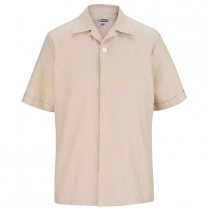 CLEARANCE Edwards Men's Essential Hidden Placket Pocketless Pincord Tunic