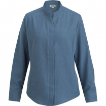 Edwards Ladies' Stand-Up Collar Shirt
