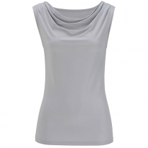 Edwards Women's Cowl Neck Sleeveless Knit Top
