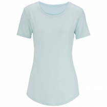 CLEARANCE Edwards Women's Drop Neck Short Sleeve Knit Top